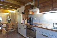 Ferienwohnung Zur Büdnerei in Pepelow Küchenansicht